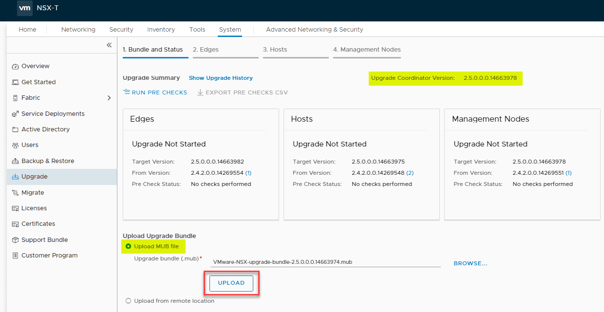 NSX-T-Upgrade-Coordinator-upgraded-successfully-to-2.5-ready-to-upgrade-the-other-components