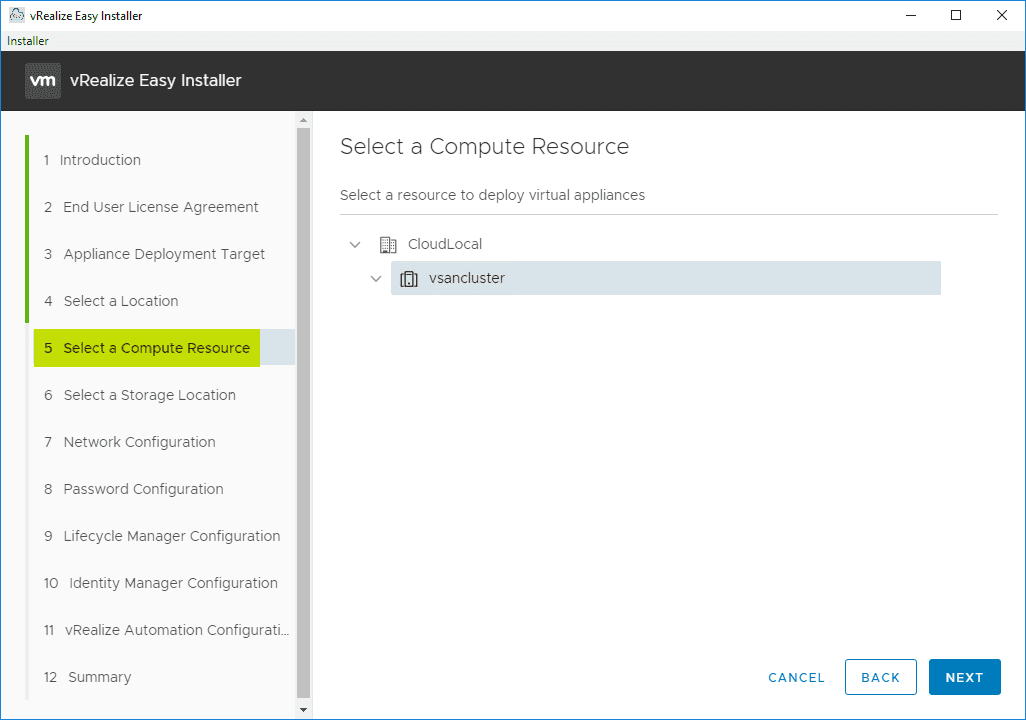 Select-your-compute-resource-for-the-VRA-8-appliances