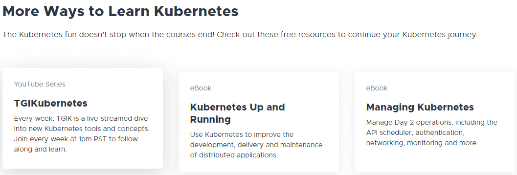 The-online-Kubernetes-Academy-has-other-knowledge-resource-links