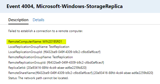 Additional-errors-trying-to-contact-the-primary-Storage-Replica-replication-partner