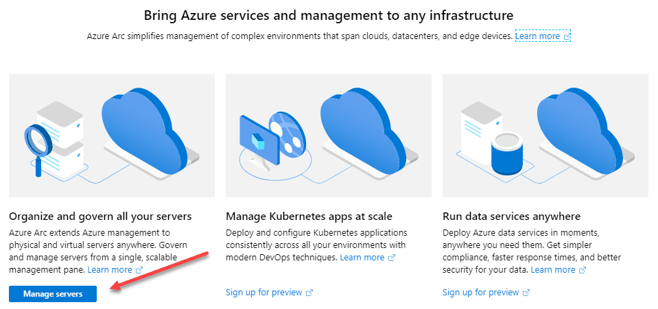 Manage-your-servers-in-Azure-Arc