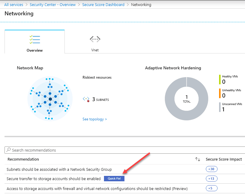 Review-Azure-Security-Center-Network-security-best-practices-recommendations