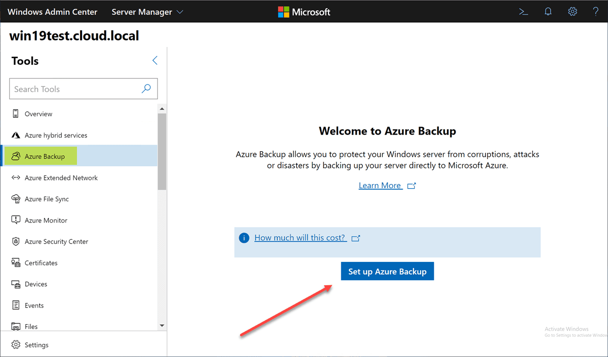Backup-your-servers-directly-to-Azure-with-Azure-Backup-hybrid-connection