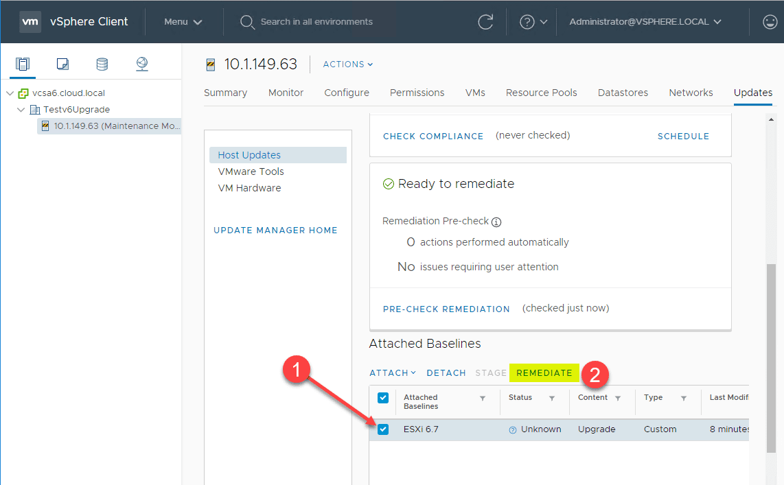 Select-the-attached-ESXi-6.7-upgrade-baseline-and-remediate