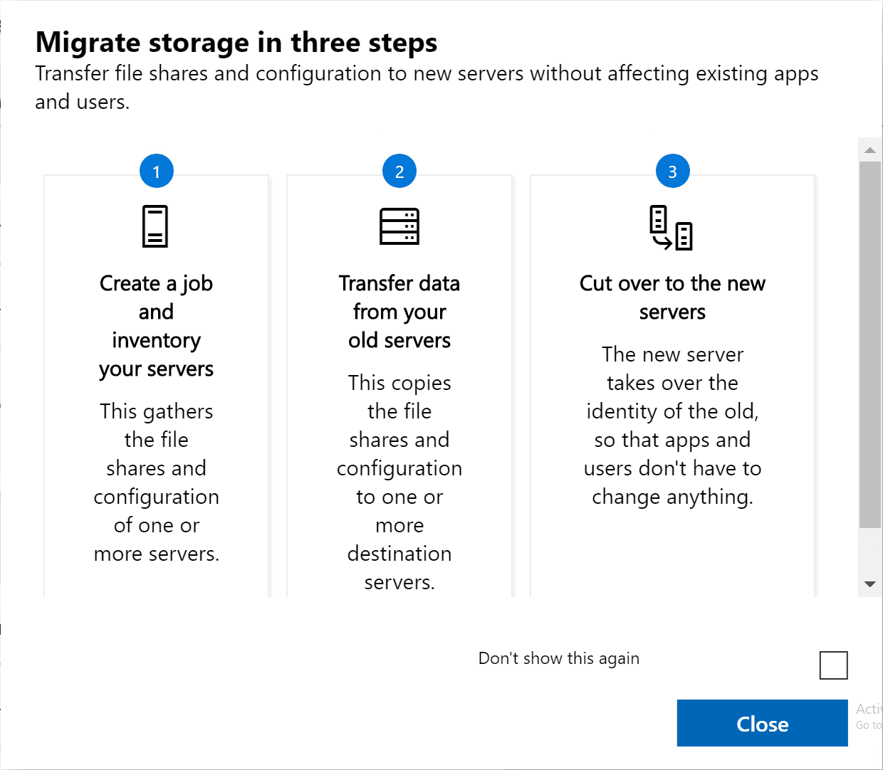 Storage-Migration-Service-overview-of-the-three-steps-for-migrating-your-servers