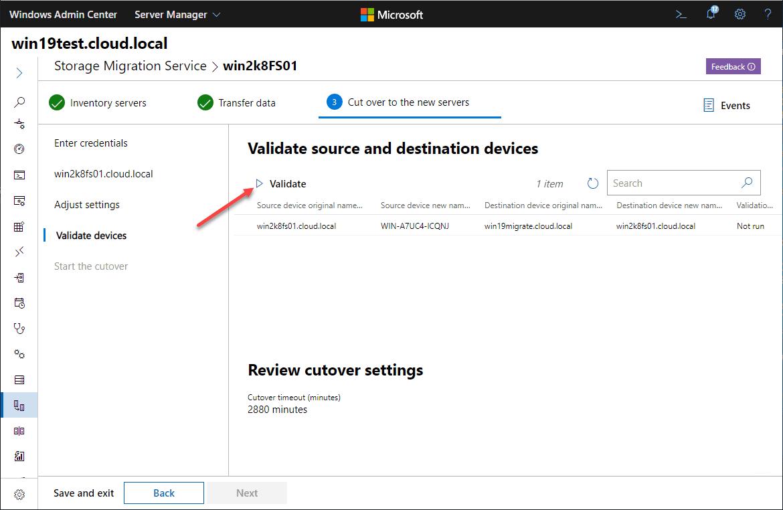 Validate-source-Windows-Server-2008-and-destination-Windows-Server-2019-computers