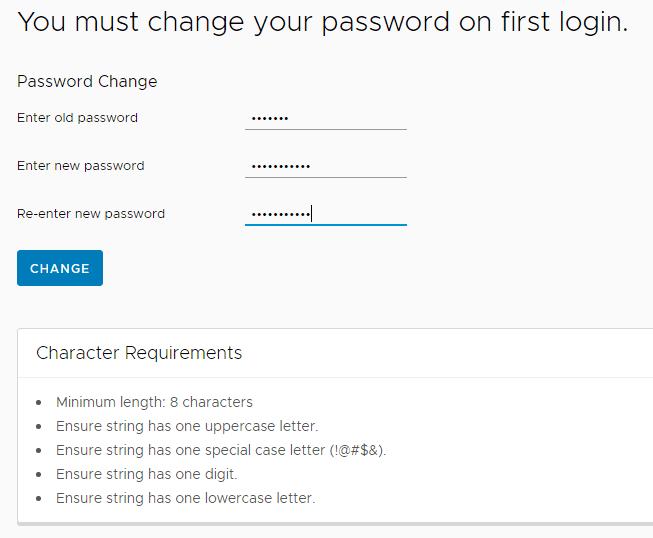 Change-your-VMware-Skyline-default-password