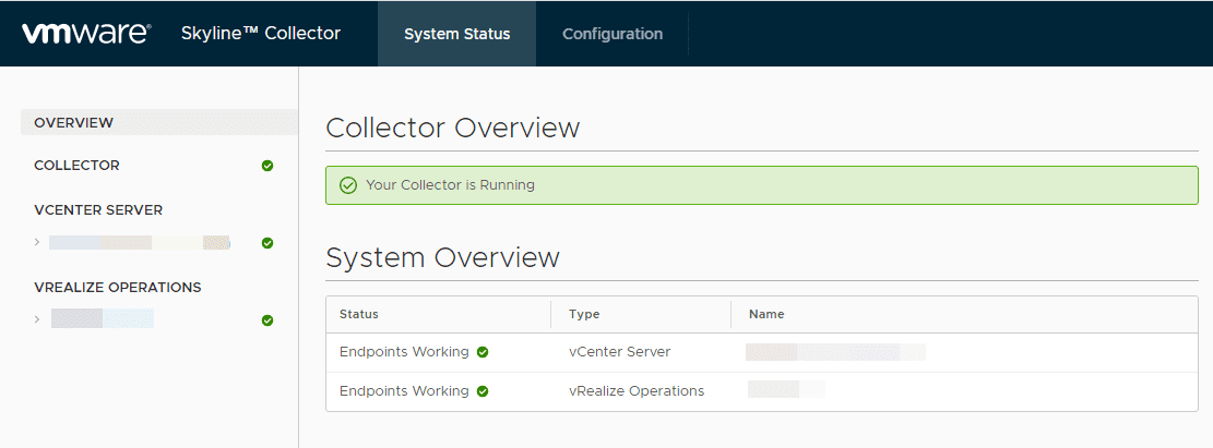 VMware-Skyline-Collector-is-running-successfully-after-configuration
