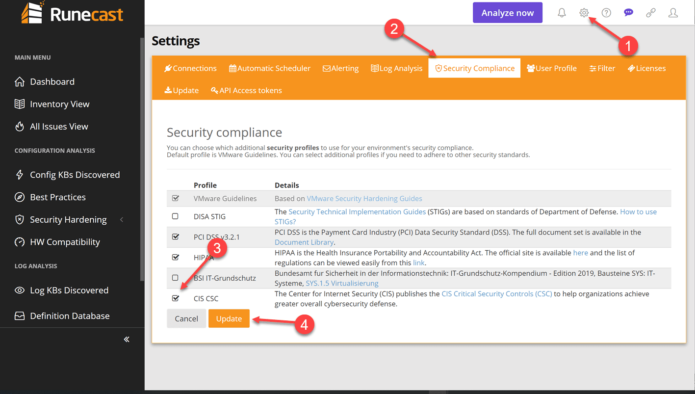 Enable-the-CIS-Criticial-Security-Controls-check-in-Runecast-Analyzer-4.1