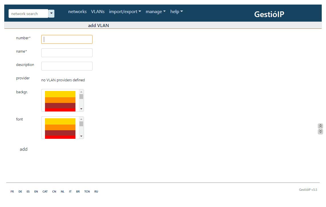 Adding-a-network-in-GestioIP