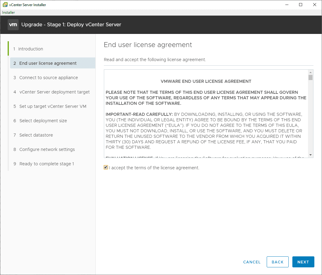 Accept-the-EULA-for-the-VCSA-7-upgrade