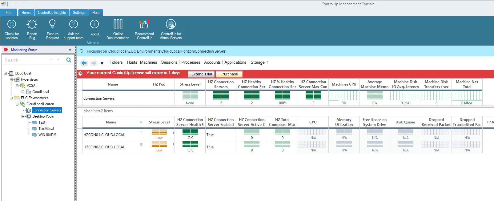 Displaying-the-VMware-Horizon-key-performance-indicators-with-ControlUp-8.1