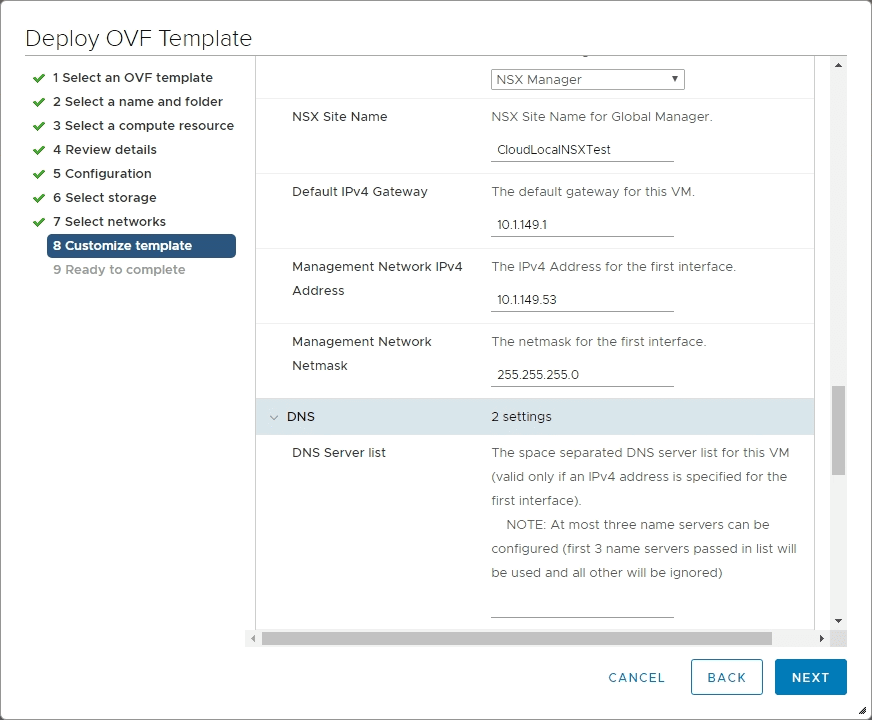 Fill-in-the-remaining-network-configuration-for-NSX-T-3.0-Manager-deployment