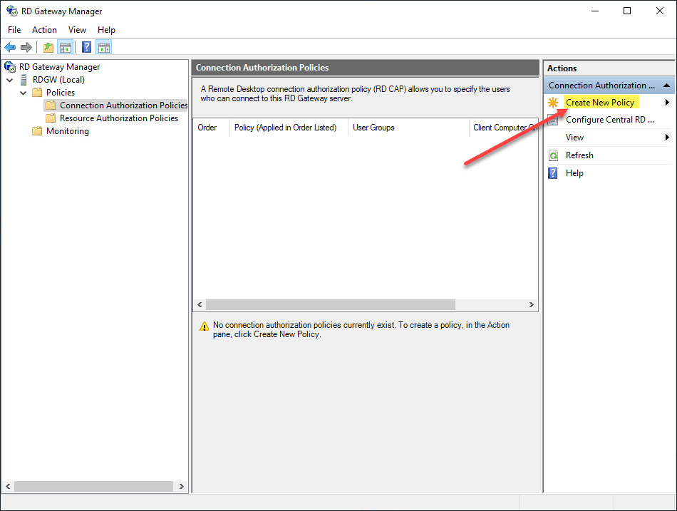 Create-a-connection-authorization-policy