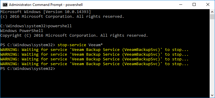 Stopping-Veeam-services-manually-using-PowerShell