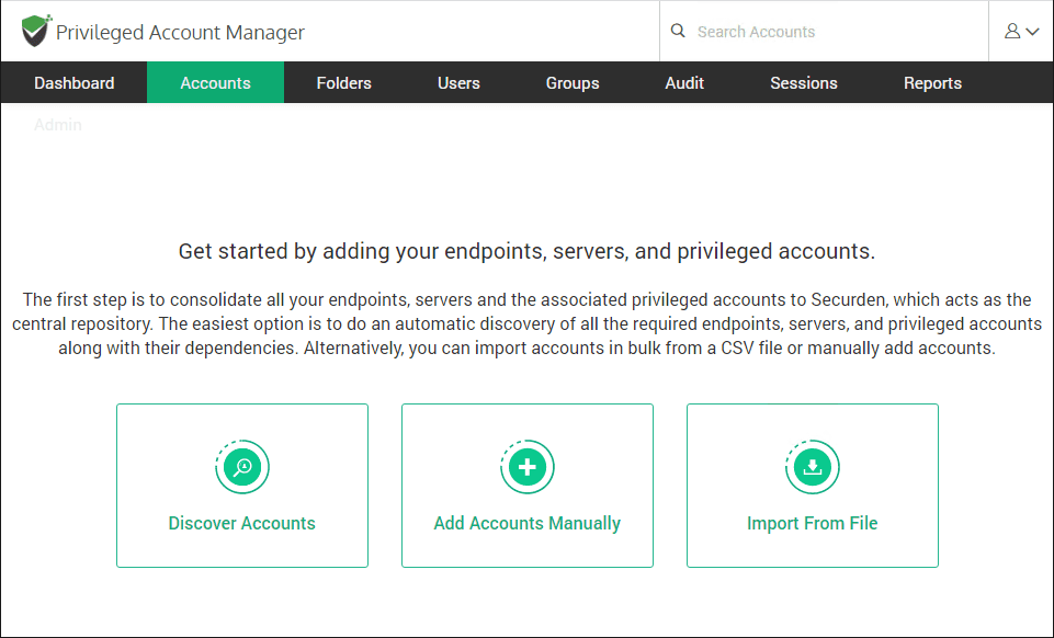 Import-accounts-to-your-Securden-environment