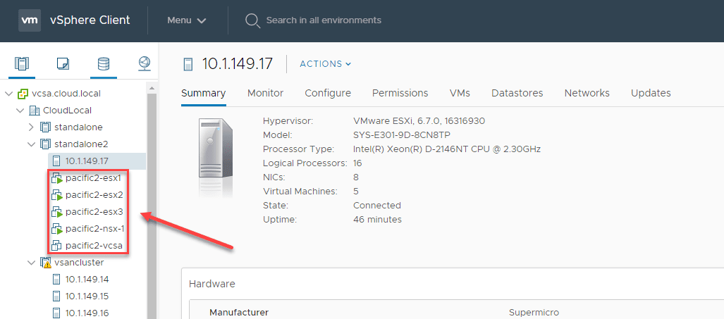 Nested-ESXi-NSX-T-lab-running-on-a-Supermicro-E301-9D