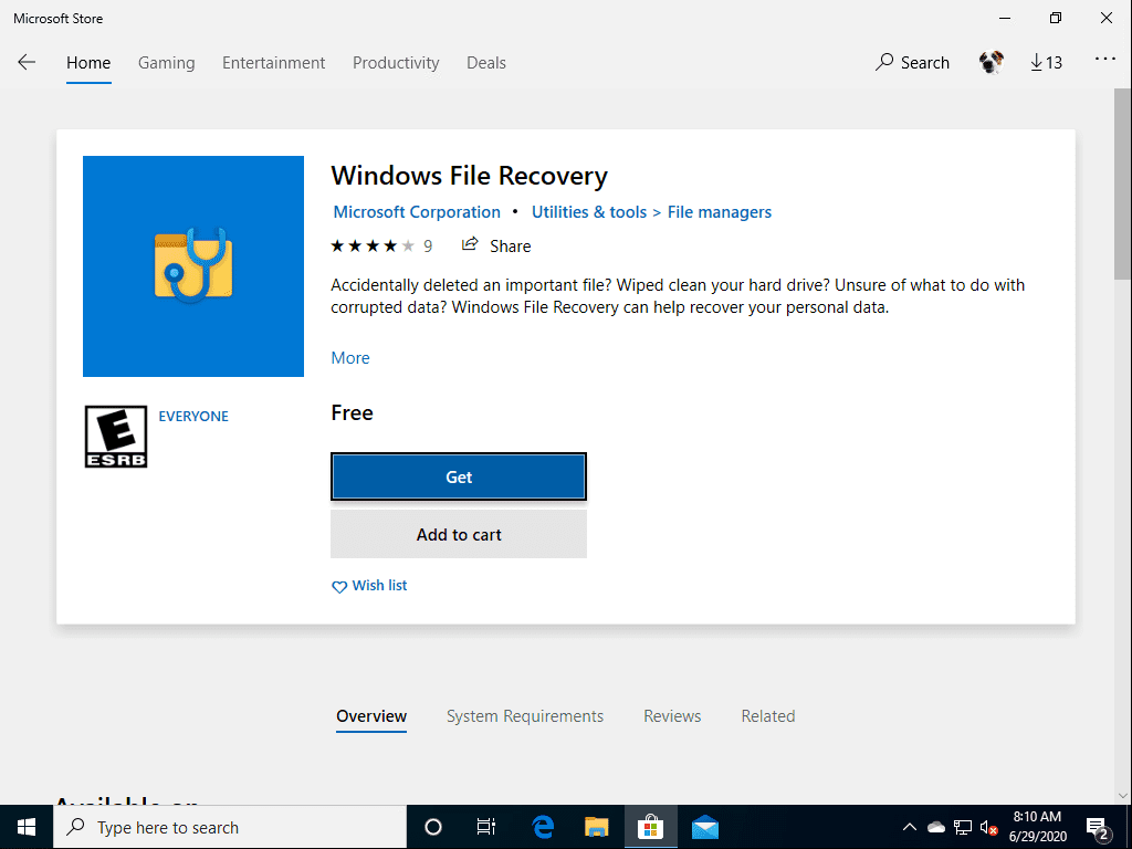 Search-for-Windows-File-Recovery-in-the-Microsoft-Store