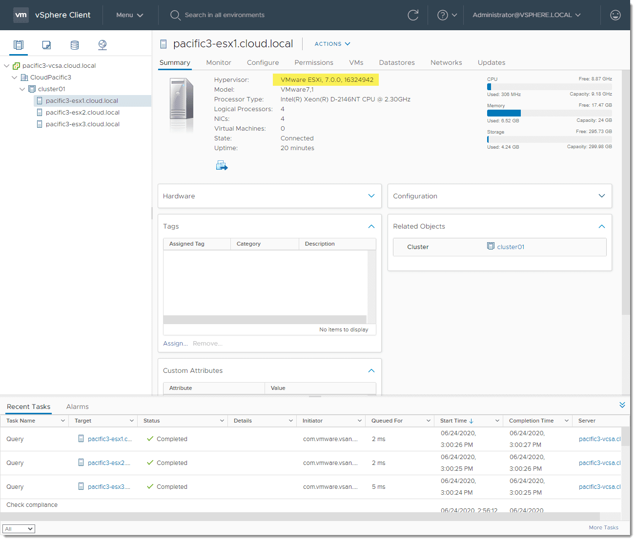 Updating-all-ESXi-7.0-hosts-finishes-successfully-using-vSphere-Lifecycle-Manager
