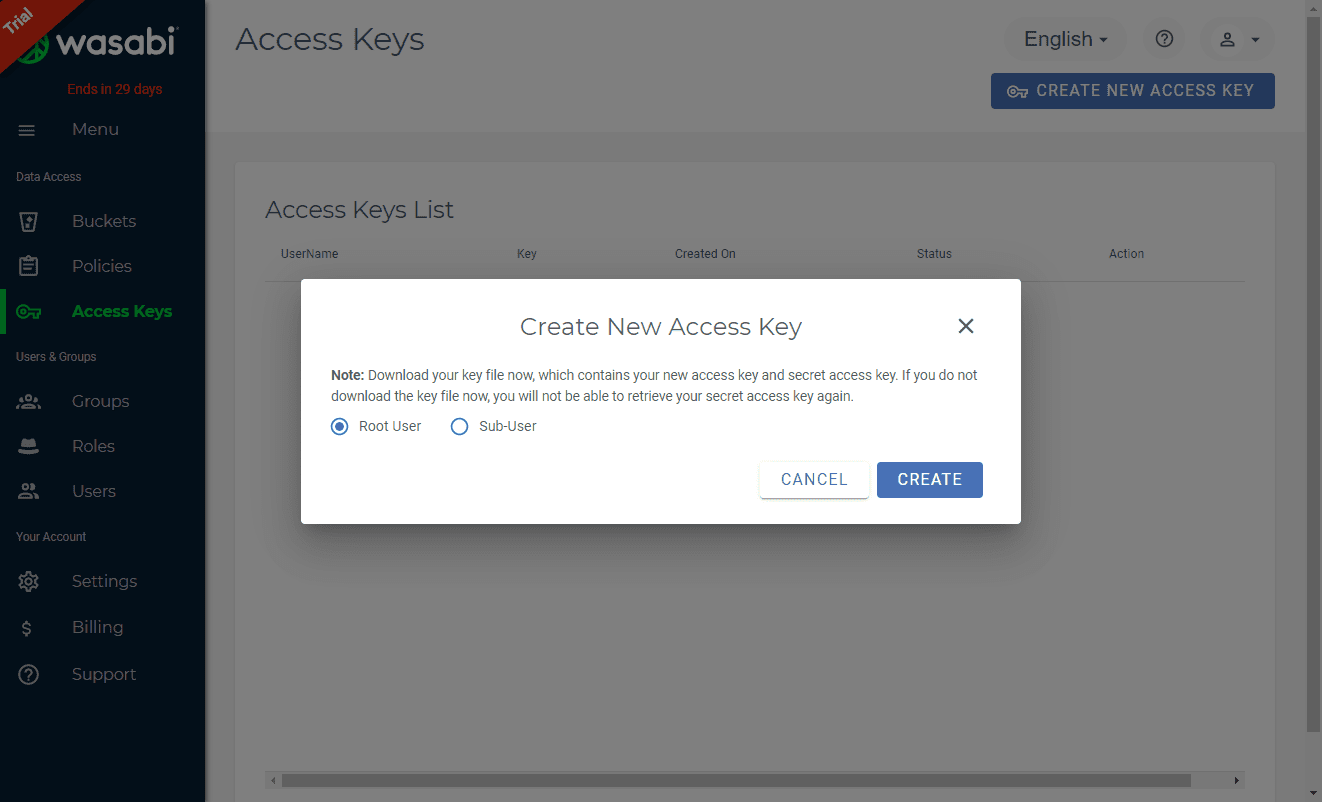 Choose-the-type-of-user-level-of-the-access-key