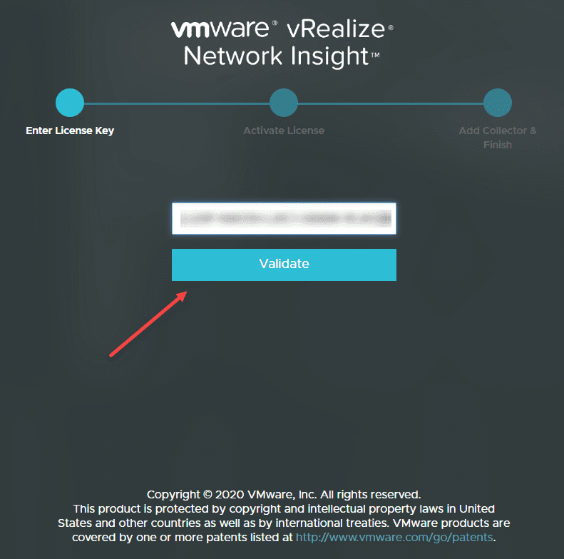 Enter-your-vRealize-Network-Insight-license-key-and-validate