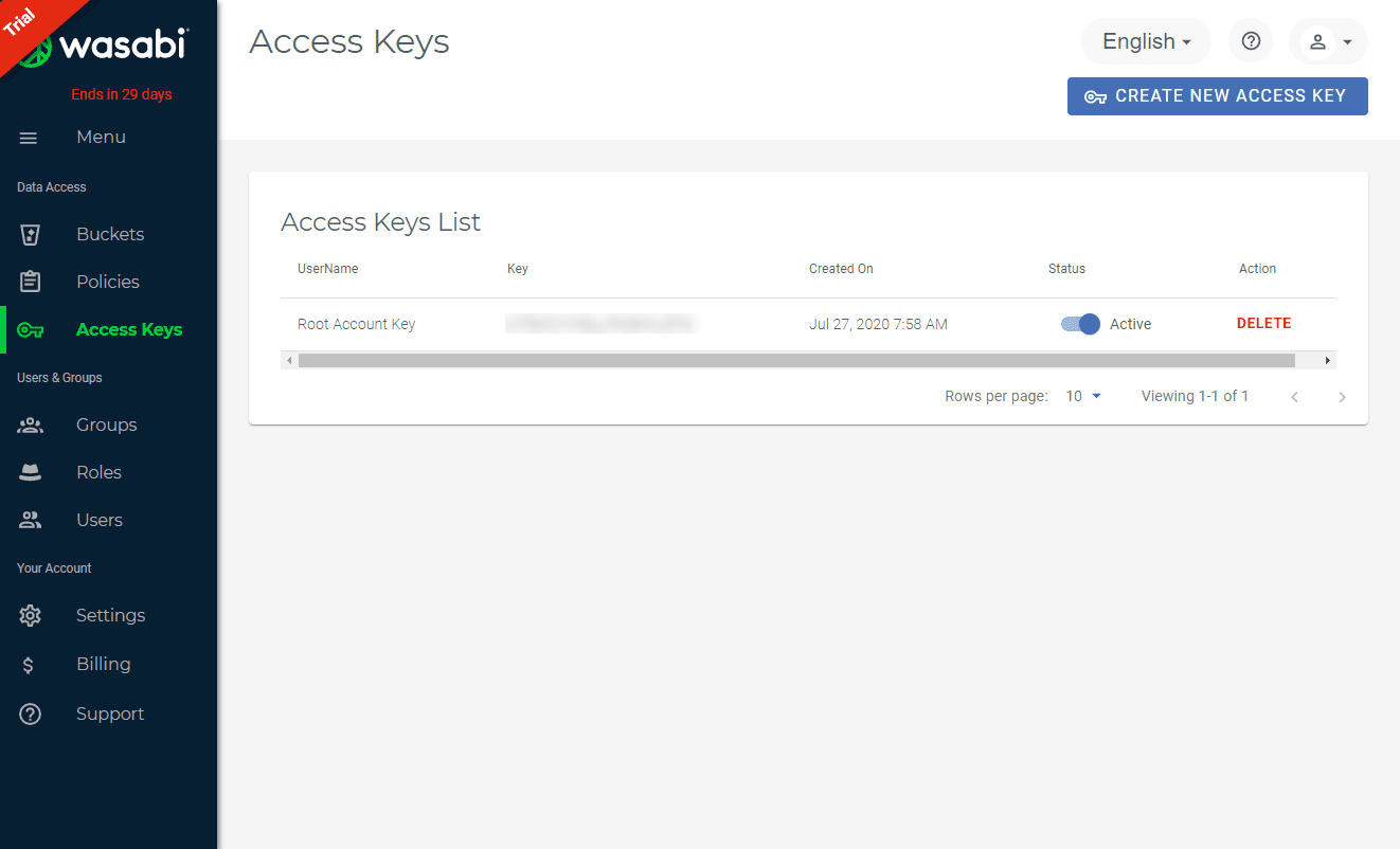 Wasabi-cloud-access-key-is-successfully-created