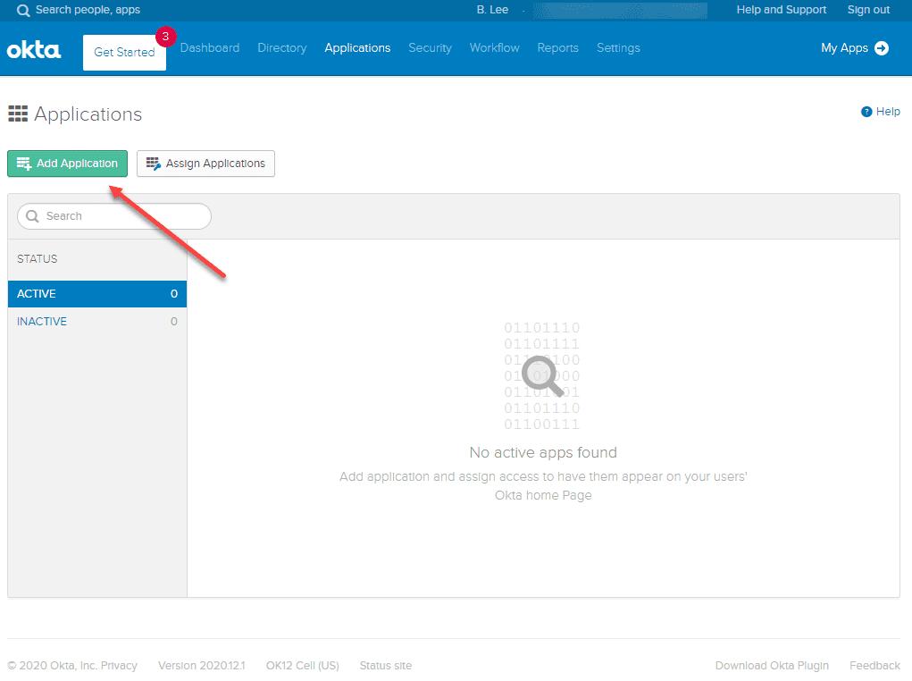 Adding-an-application-in-OKTA