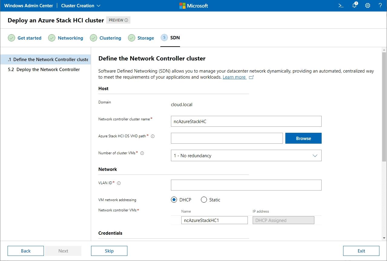 Configure-SDN-or-skip-the-configuration-of-SDN