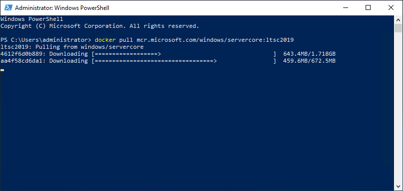 Downloading-and-extracting-a-Windows-Server-2019-Docker-image