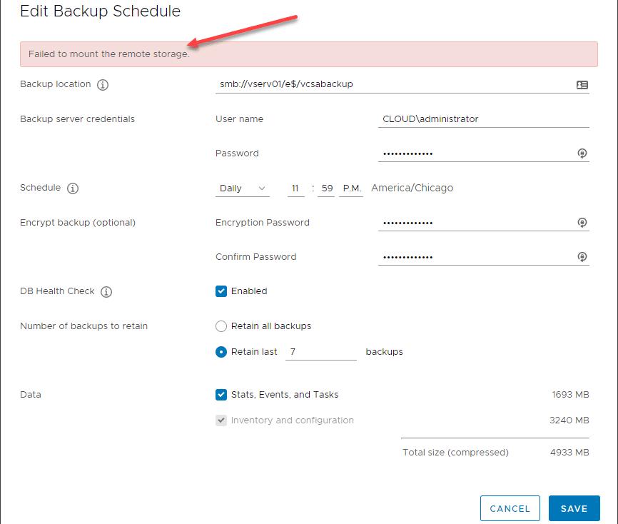 Error-using-the-NETBIOS-domain-username-format-with-vCenter-Server-Backup