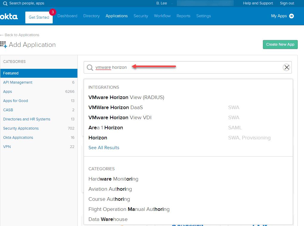 Search-for-VMware-Horizon-to-find-the-VMware-Horizon-RADIUS-application-1