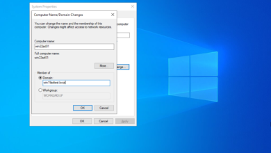 Joining a windows server 2022 server to a windows server 2019 domain