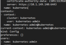 Change from v0 to v1 in the kubeconfig file from your kubernetes master node