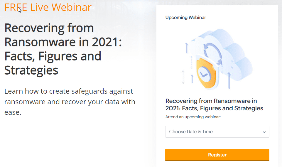 Recovering from ransomware in 2021