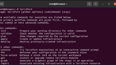 Running terraform 1.0.1 on linux devops workstation