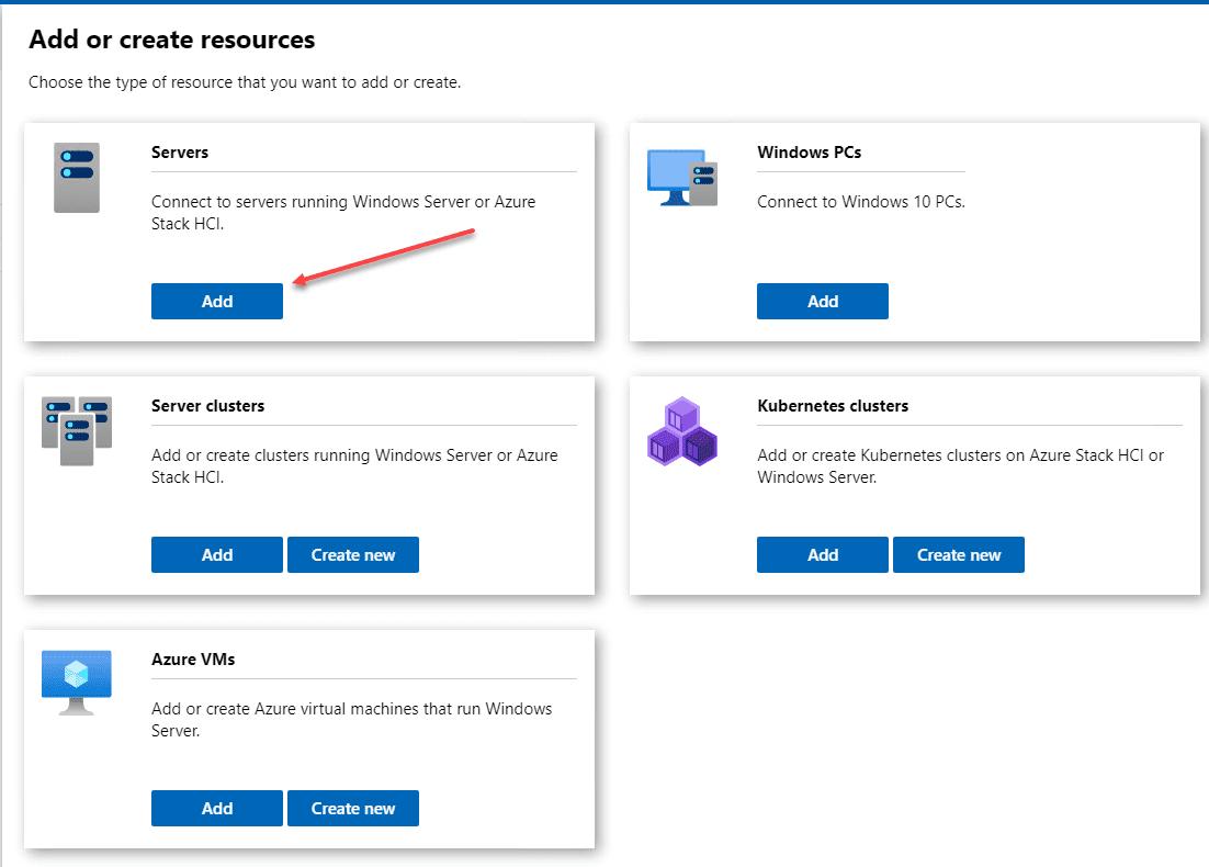 Adding the Windows Server 2022 Core server to Windows Admin Center