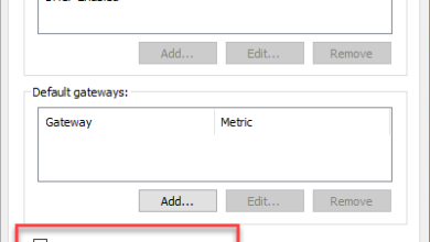 Uncheck the automatic metric checkbox