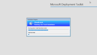 Apply the captured image to deploy Windows Server 2022