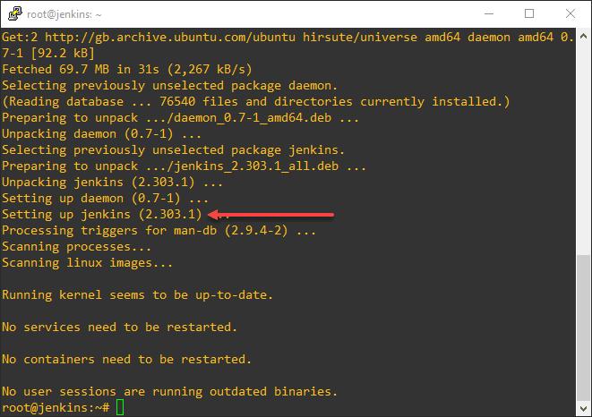 Setting up Jenkins on Ubuntu