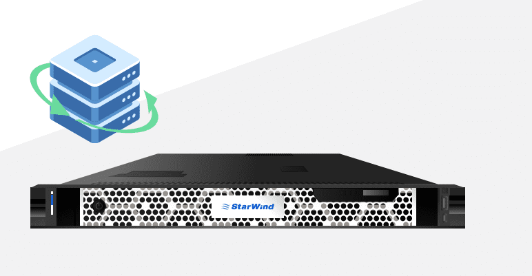 StarWind Backup Appliance BA with NVMe Storage performance